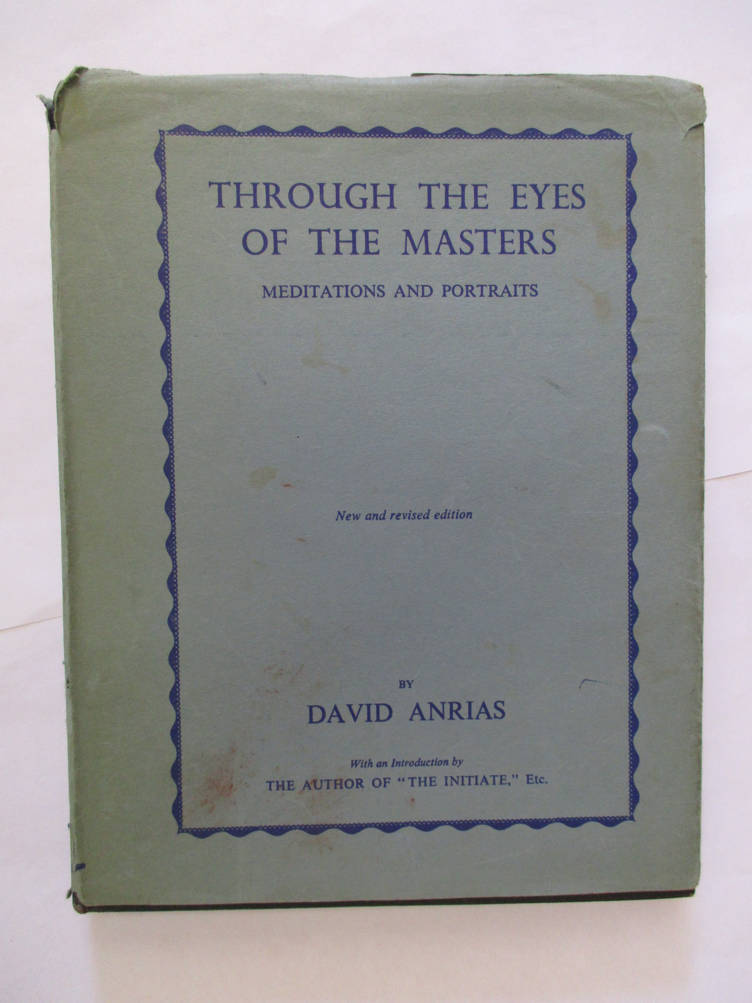 Image for THROUGH THE EYES OF THE MASTER Meditations Portraits