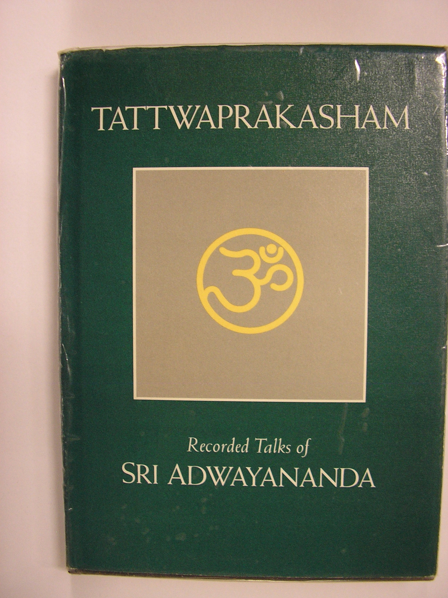 Image for Tattwaprakasham Recorded Talks Sri Adwayananda