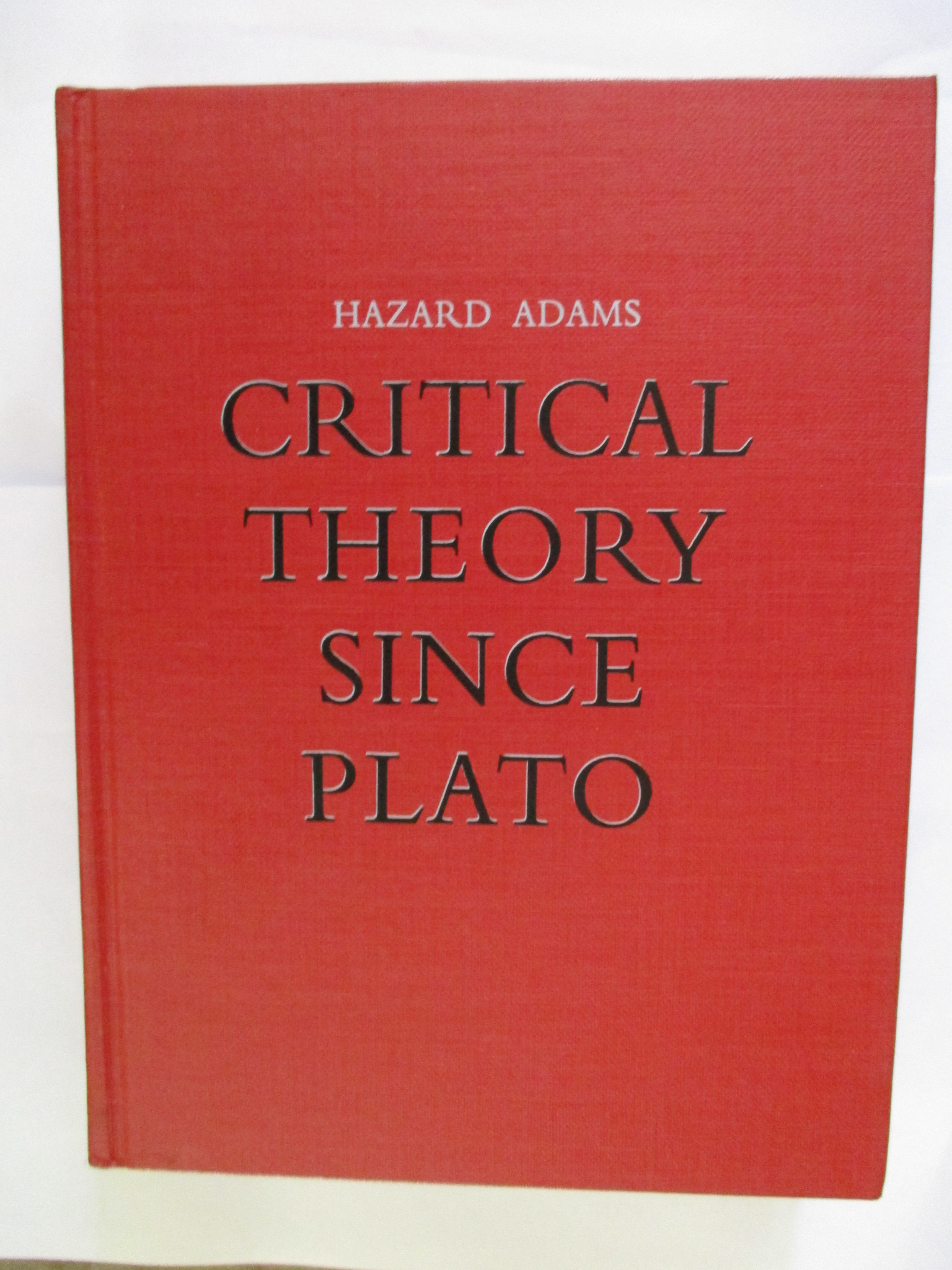 Image for Adams Critical Theory since Plato