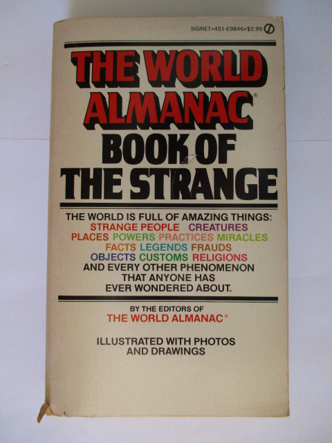 Image for THE WORLD ALMANAC - BOOK OF THE STRANGE