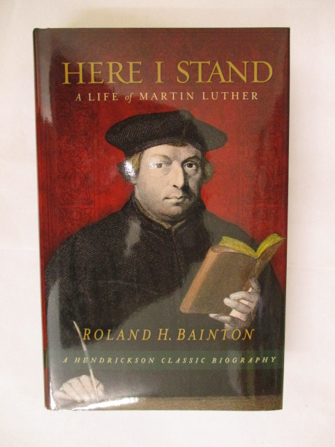 Image for HERE I STAND - A LIFE OF MARTIN LUTHER